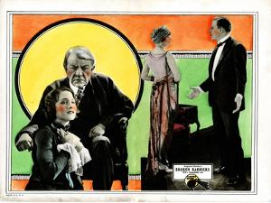 Broken Barriers, Norma Shearer, George Fawcett, Mae Busch, James Kirkwood, 1924