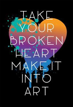 Broken Heart Make Art