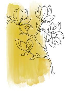 Botanique en Jaune 1 by Bronwyn Baker