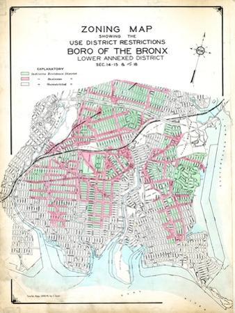 Bronx Zoning Map