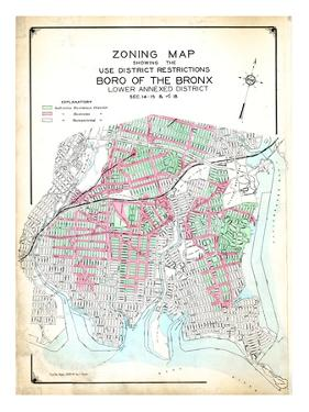 Bronx Zoning Map