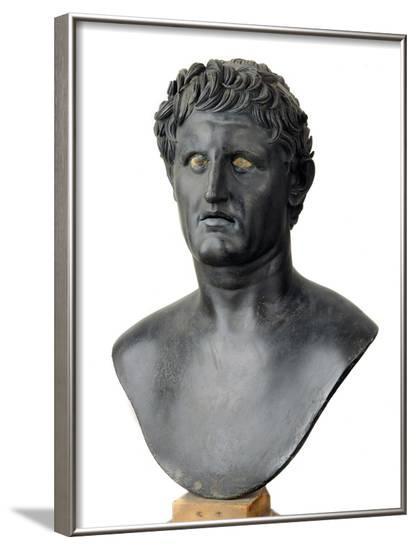 Bronze Bust of Seleucus I Nicator--Framed Photographic Print