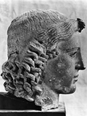 Bronze Bust of the Greek God Apollo, C460 BC