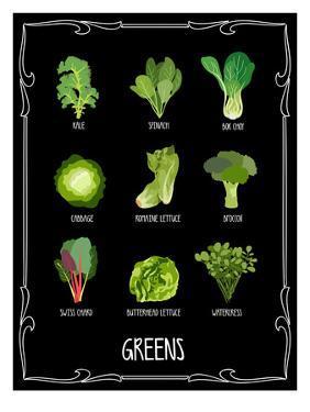 Garden Greens by Brooke Witt
