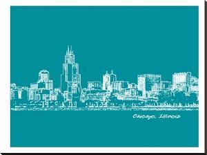 Skyline Chicago 4 by Brooke Witt
