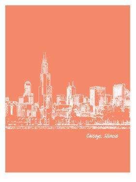 Skyline Chicago 8 by Brooke Witt