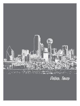 Skyline Dallas 1 by Brooke Witt