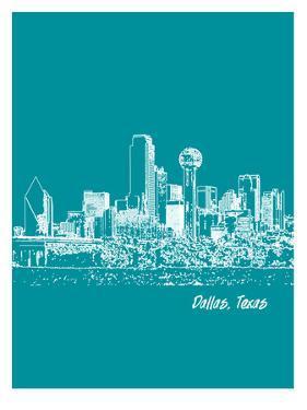 Skyline Dallas 4 by Brooke Witt