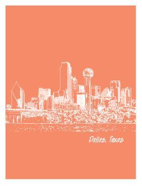 Skyline Dallas 8 by Brooke Witt