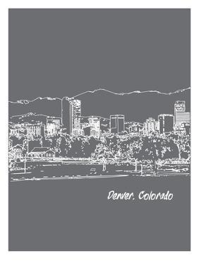 Skyline Denver 1 by Brooke Witt