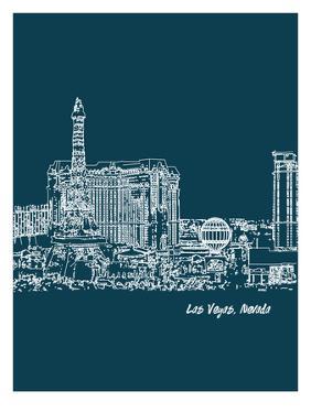 Skyline Las Vegas 3 by Brooke Witt