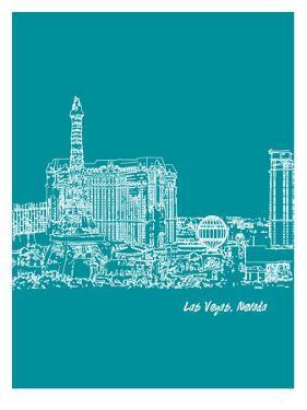 Skyline Las Vegas 4 by Brooke Witt
