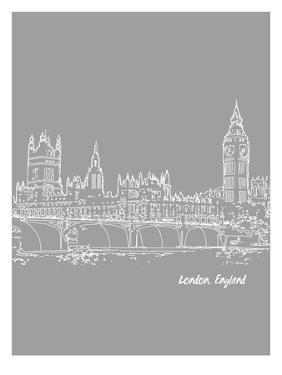 Skyline London 2 by Brooke Witt