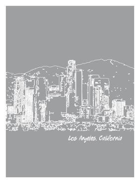 Skyline Los Angeles 2 by Brooke Witt