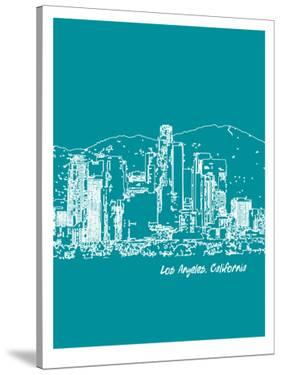 Skyline Los Angeles 4 by Brooke Witt