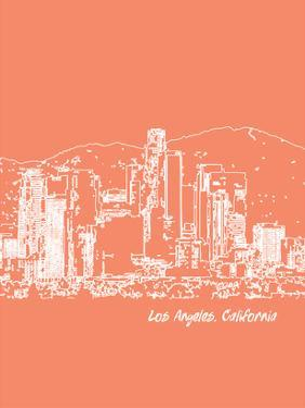 Skyline Los Angeles 8 by Brooke Witt