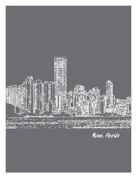 Skyline Miami 1 by Brooke Witt