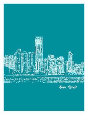 Skyline Miami 4 by Brooke Witt