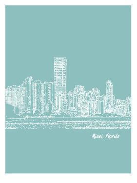 Skyline Miami 5 by Brooke Witt
