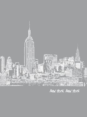 Skyline New York City 2 by Brooke Witt