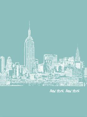 Skyline New York City 5 by Brooke Witt