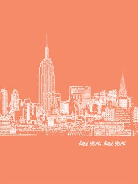 Skyline New York City 8 by Brooke Witt