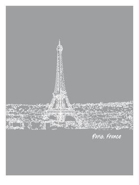 Skyline Paris 2 by Brooke Witt