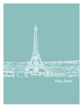 Skyline Paris 5 by Brooke Witt