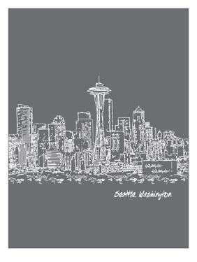 Skyline Seattle 1 by Brooke Witt