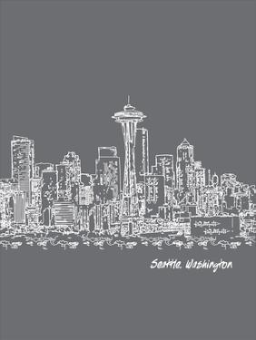 Skyline Seattle 1 by Brooke Witt