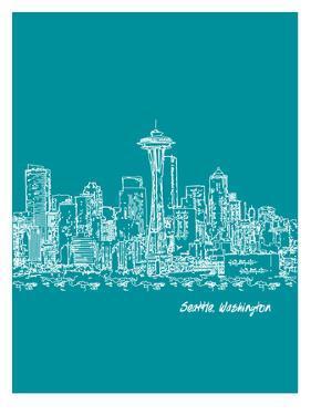 Skyline Seattle 4 by Brooke Witt