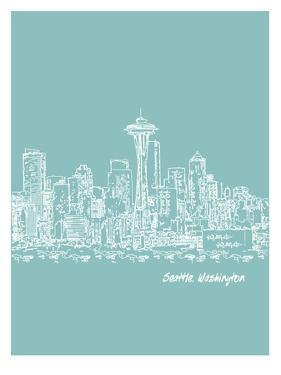 Skyline Seattle 5 by Brooke Witt