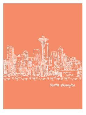 Skyline Seattle 8 by Brooke Witt