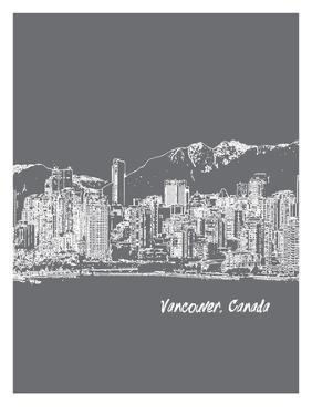 Skyline Vancouver 1 by Brooke Witt