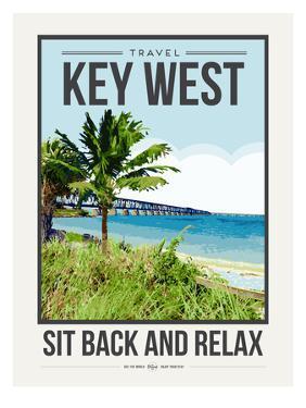 Travel Poster Keywest by Brooke Witt