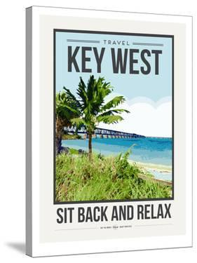 Travel Poster Keywest by Brooke Witt