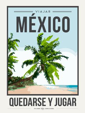 Travel Poster Mexico by Brooke Witt