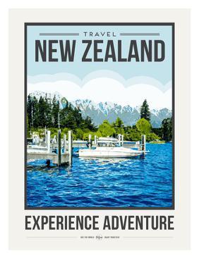 Travel Poster Newzealand by Brooke Witt