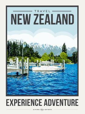 Travel Poster Newzealand by Brooke Witt