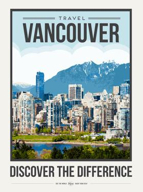 Travel Poster Vancouver by Brooke Witt