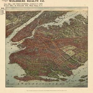 Brooklyn 1908 Bird's Eye View