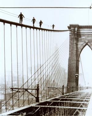 Brooklyn Bridge Climb, 1926
