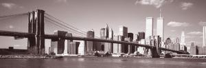 Brooklyn Bridge, Hudson River, New York City, New York State, USA