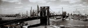 Brooklyn Bridge, New York City, 1938