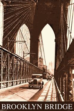 Brooklyn Bridge- Vintage