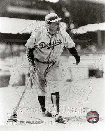 Brooklyn Dodgers - Babe Ruth Photo
