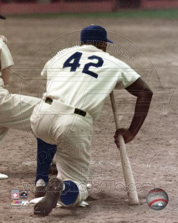 Brooklyn Dodgers - Jackie Robinson Photo