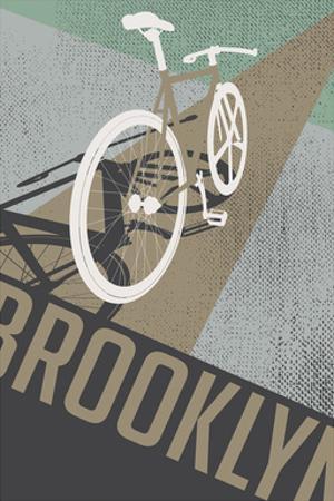 Bike Perspective (Tan) by Brooklyn Industries