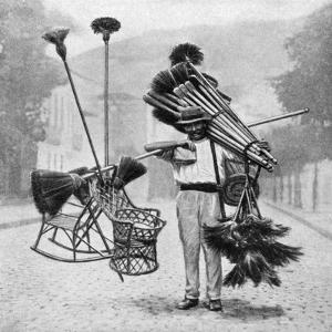 Broom Vendor, Rio De Janeiro, Brazil, 1922