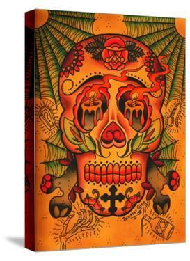 Day of The Dead Skull by Brother Greg